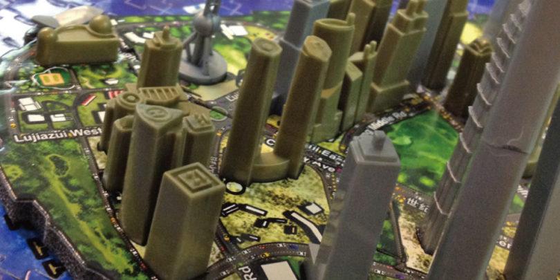 4D立體城市拼圖-上海