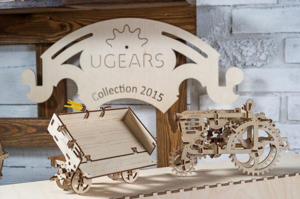 Ugears Tractor Trailer 11