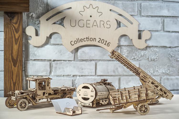 Ugears卡車全系列豪華組