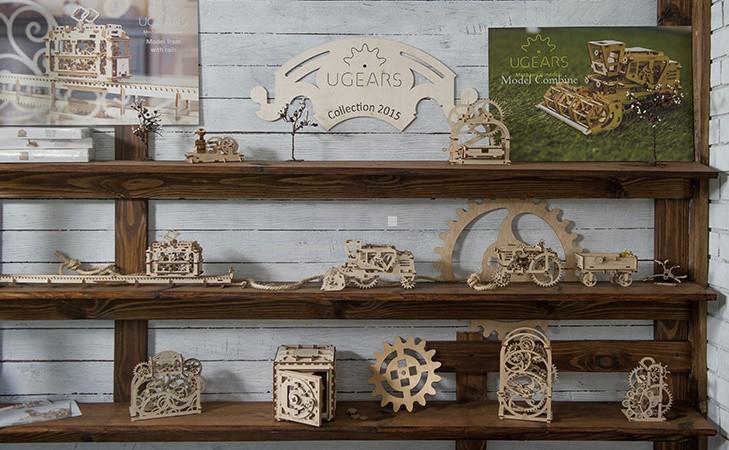 Ugears生活機械設計系列8件組