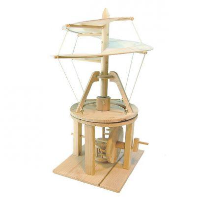 達文西手稿系列模型螺旋直升機
