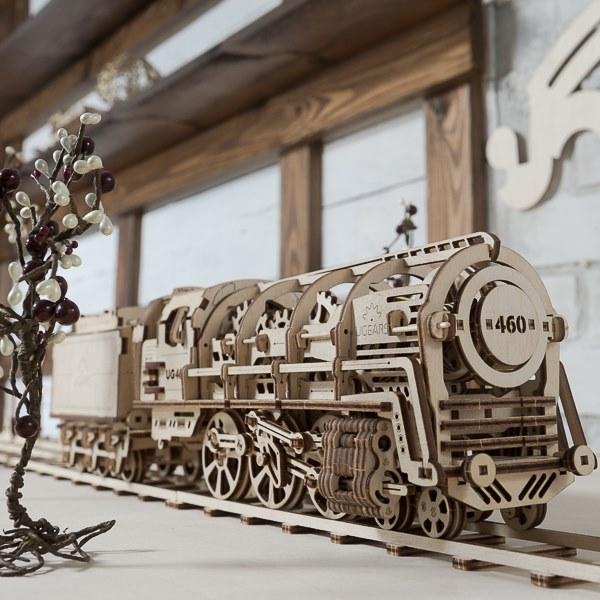 Ugears 460蒸汽火車頭