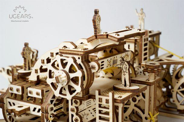 Ugears Robot Factory Mechanical Town Series 5