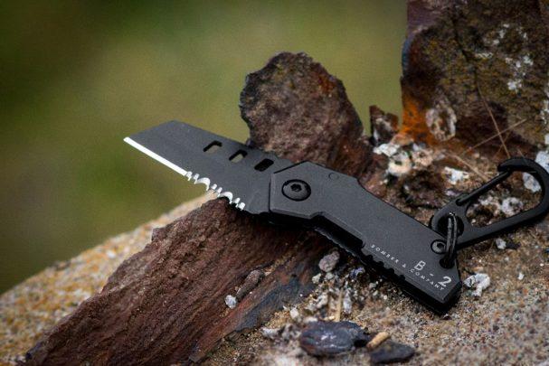 1080_B-2 Bomber Nano Blade Pocket Knife - 3