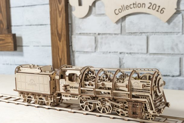 Ugears Steam Locomotive Tender 33