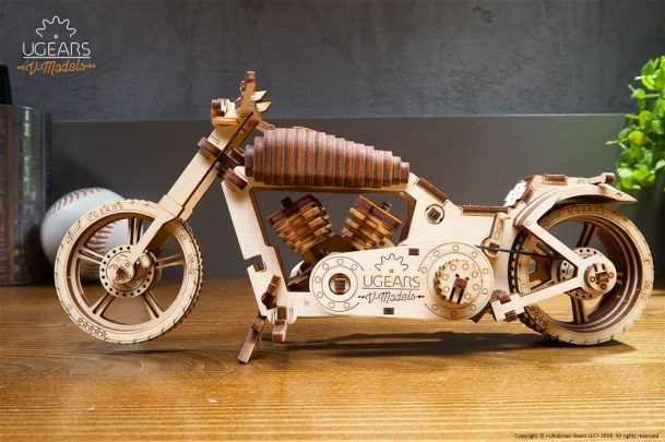 Ugears Bike VM-02 Model Kit