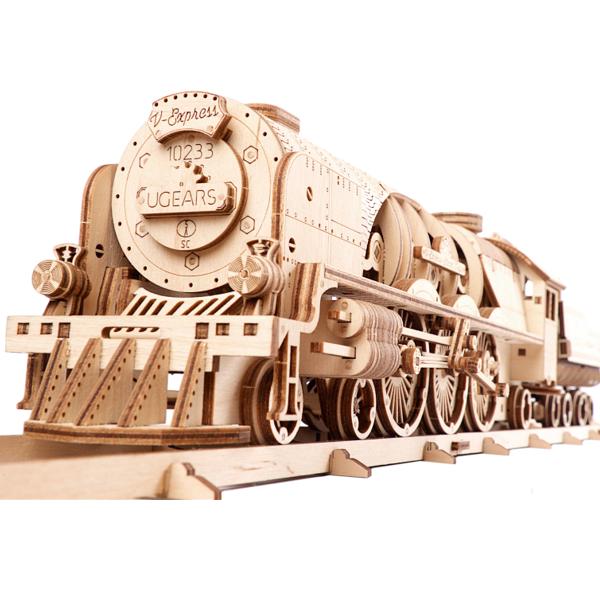 Ugears V-Express維多利亞蒸汽火車