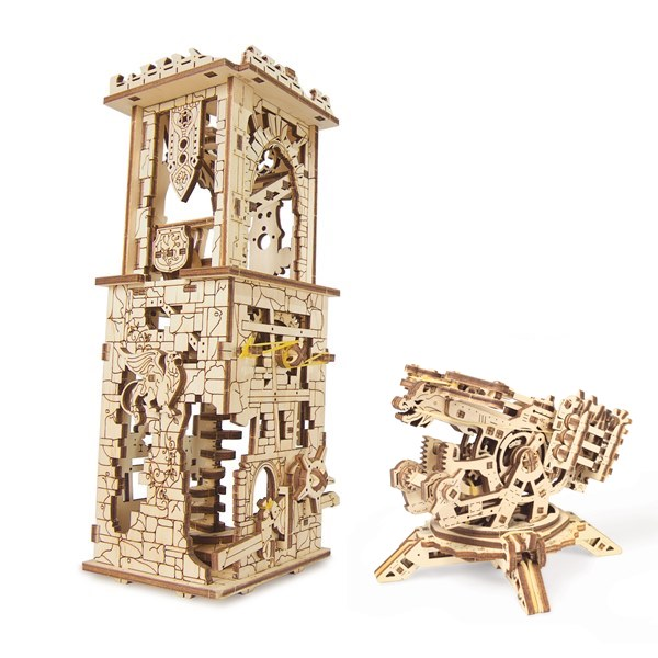 ugears-守護者箭塔-archballista-tower