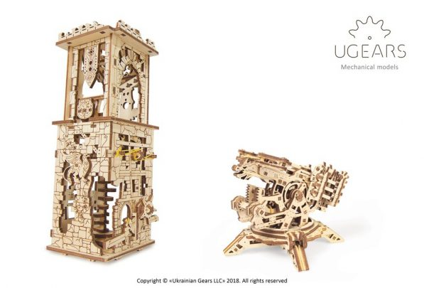 P_4 Ugears Archballista-Tower Model Tower-max-1000