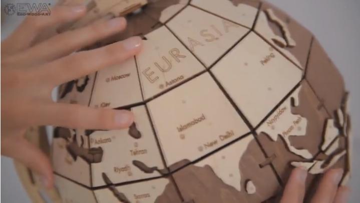 旋轉地球儀THE GLOBE_1