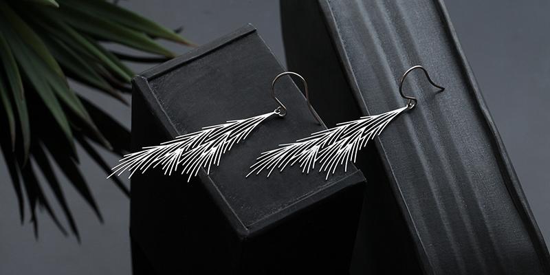 蘆葦草耳環