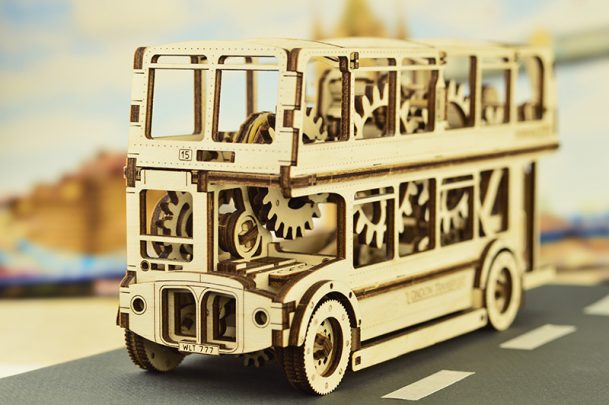 WoodenCity《倫敦巴士》