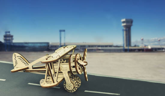WoodenCity《螺旋槳飛機》