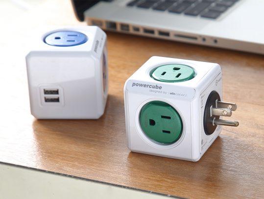 擴充插座/綠色