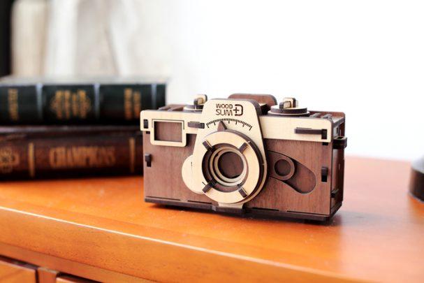 韓國-WOODSUM-木製菲林相機1