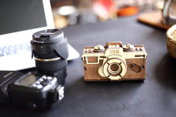 韓國-WOODSUM-木製菲林相機2