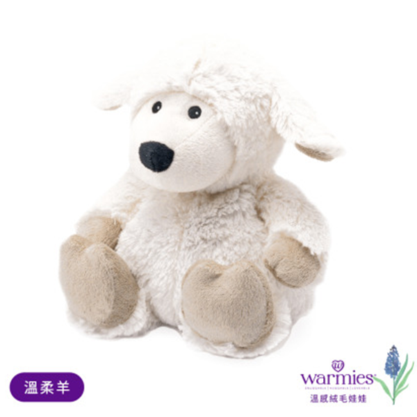 WARMIES安撫香芬絨毛娃娃-溫柔羊