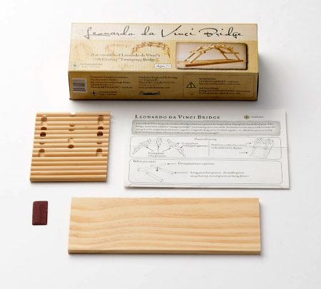 達文西手稿木模型-橋