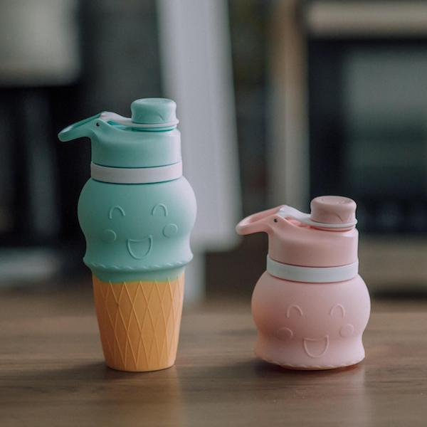 甜筒矽水杯