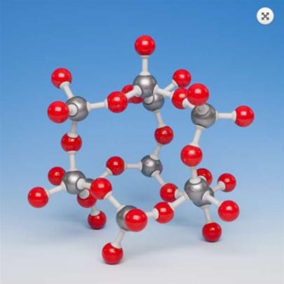 石英結晶模型