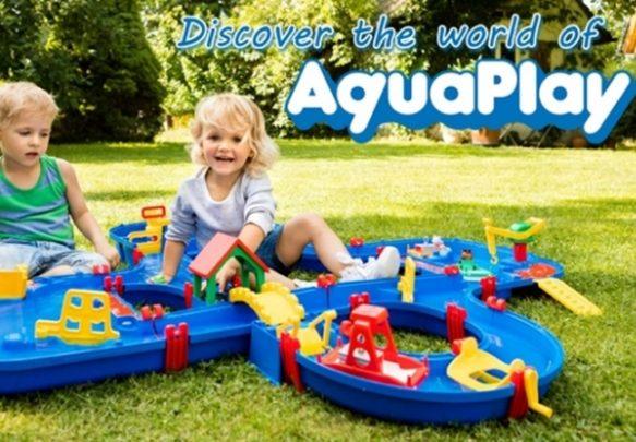 Aquaplay漂漂河水上樂園玩具_3