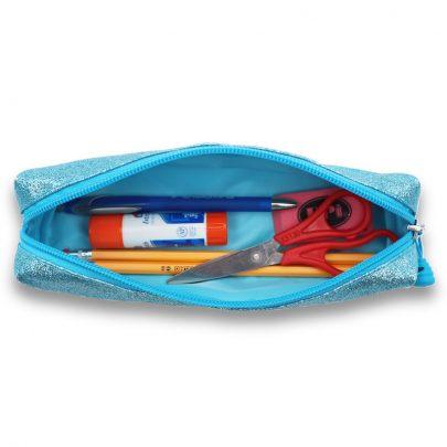 Bixbee_303038_SparkaliciousTurquoise_PencilCase_Open