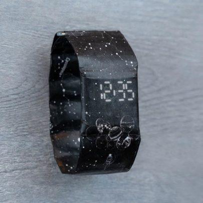 紙手錶 星系