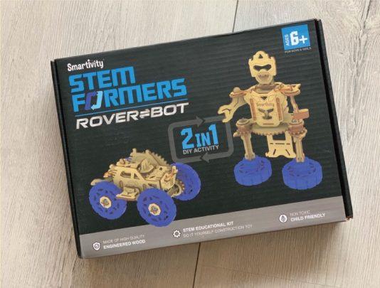 轉轉機器人賽車二合1