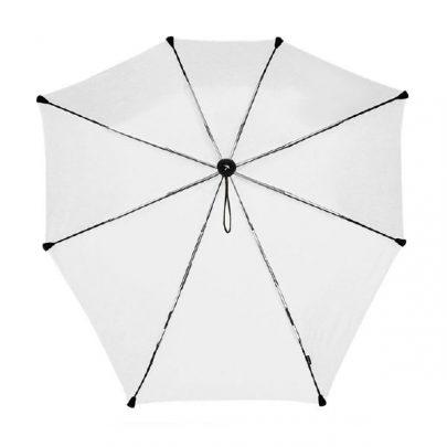 荷蘭 Senz 盛世 自動摺疊防風傘 -耀銀灰02