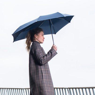 荷蘭 Senz 盛世 菁英摺疊防風傘 - 夜曲藍04