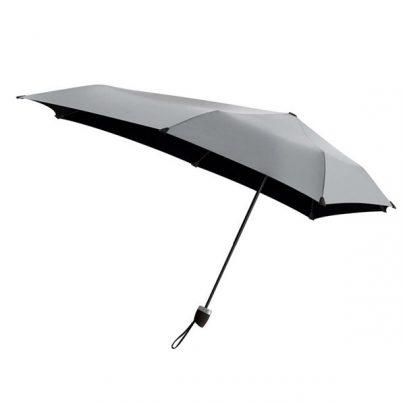 荷蘭 Senz 盛世 輕量摺疊防風傘 - 絲綢灰00