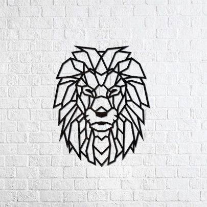 EWA 實木壁飾/萬獸之王2
