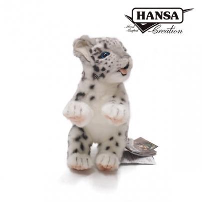 4996-雪豹寶寶30公分2