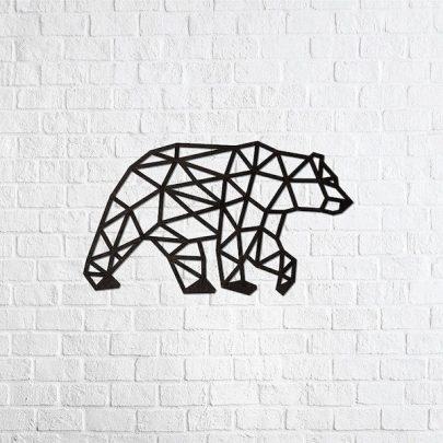 EWA實木壁飾《北極熊》1