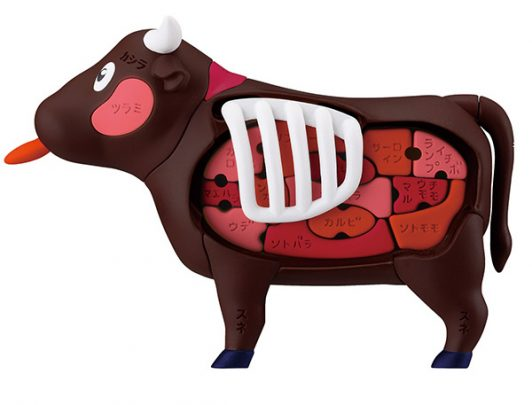 MegaHouse《燒肉牛》立體拼圖2