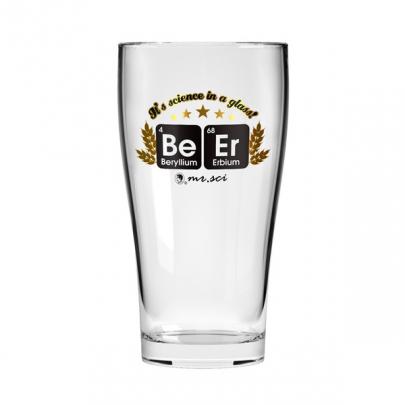 BeEr化學元素啤酒杯