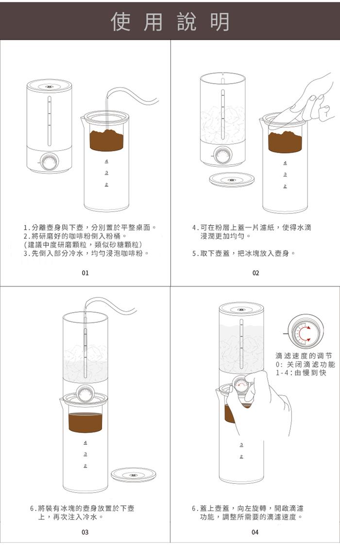 Timemore泰摩冰滴式咖啡冷萃壺
